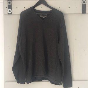 Eddie Bauer Mens Cotton Merino Sweater, XL
